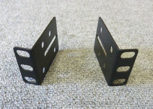 Genuine APC 870-8587B Pair Of 1U PDU Heavy Duty Mounting Brackets No Screws